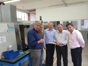 Besuch des Technologiezentrums bei Gabinvest